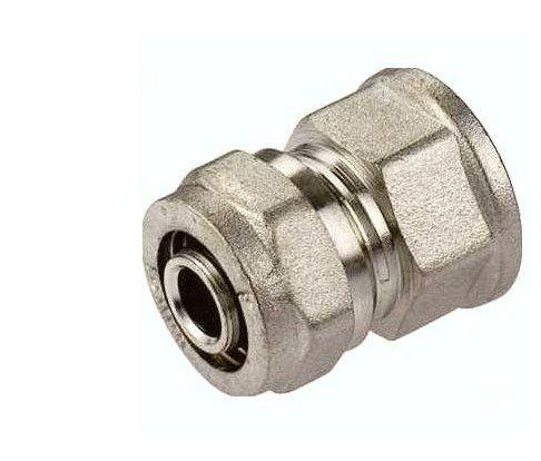 Złączka prosta PEX mufa 25x1 GW skręcana