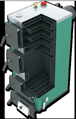 Kocioł SETLANS 18 kW uniwersalny