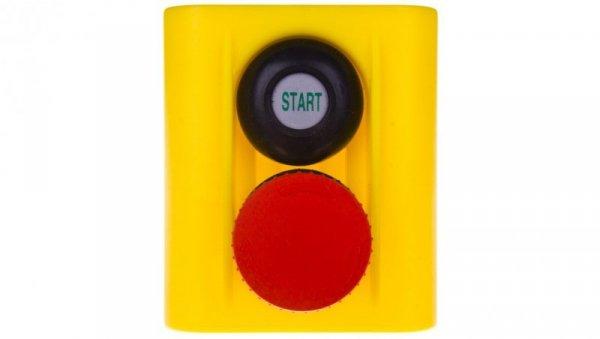Korpus kasety z przyciskiem bezpieczeństwa IP54 W0-513 25S