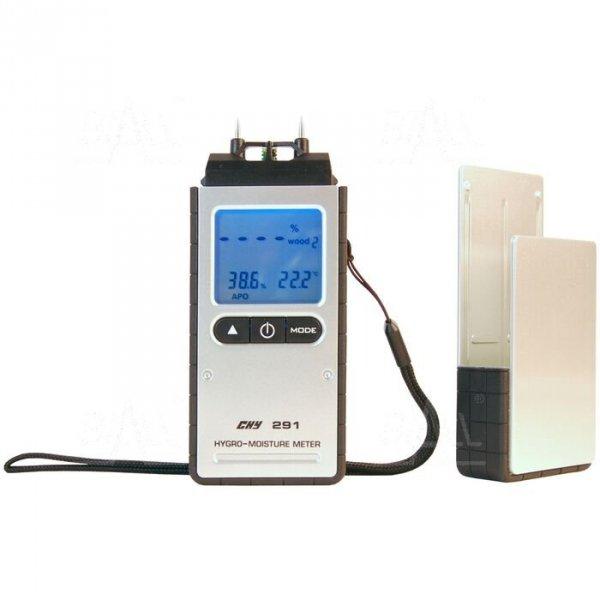 CHY291 Miernik wilgotności materiałów budowlanych, drewna i termohigrometr