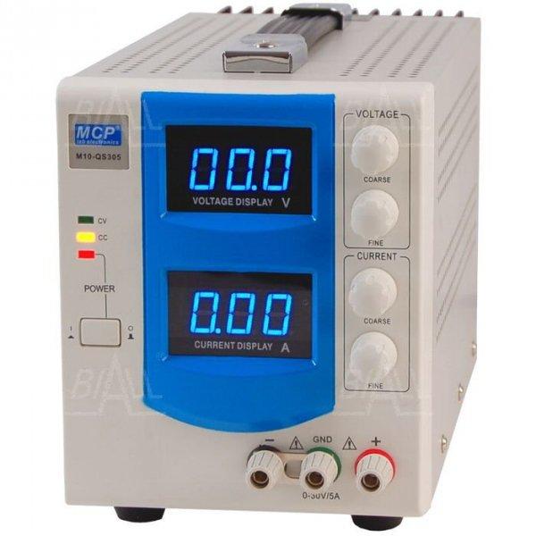 Zasilacz lab QS305 DC 30V/5A do pracy ciągłej MCP