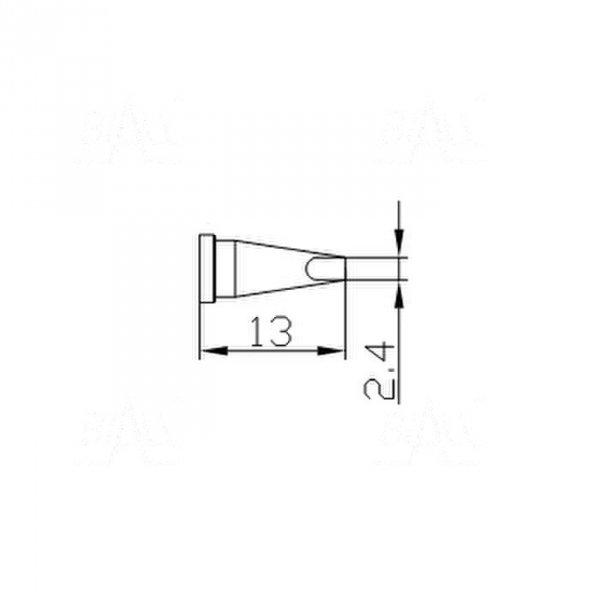 Grot 662 stożek  ścięty 2,4mm do LF2000/LF8800/LF853D