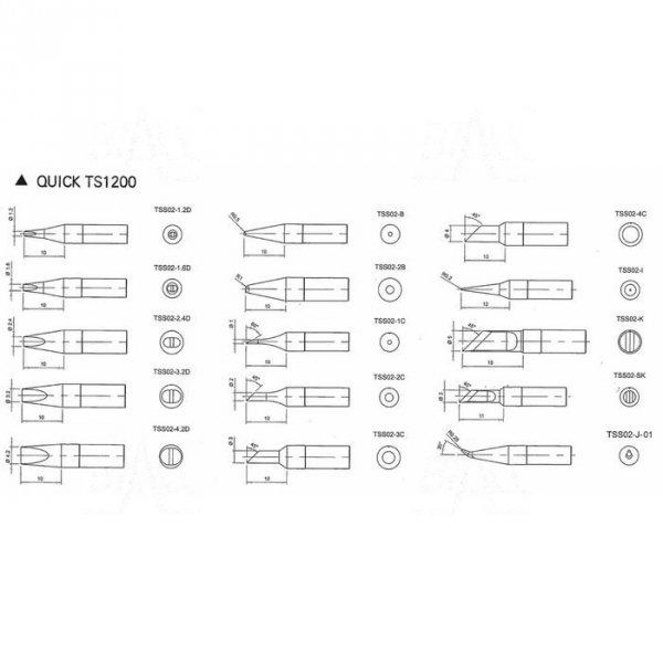 Grot TSS02-3C do Quick TS1200