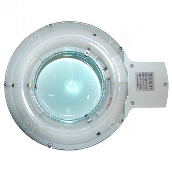Lampa warsztatowa z lupą(127mm) 8066-1C 5D 22W
