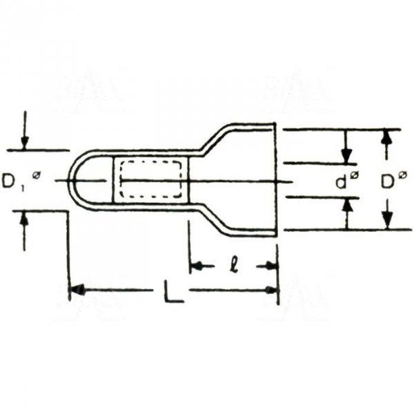 ZKZ-5 Złączka kablowa zaciskowa 5mm2 100szt