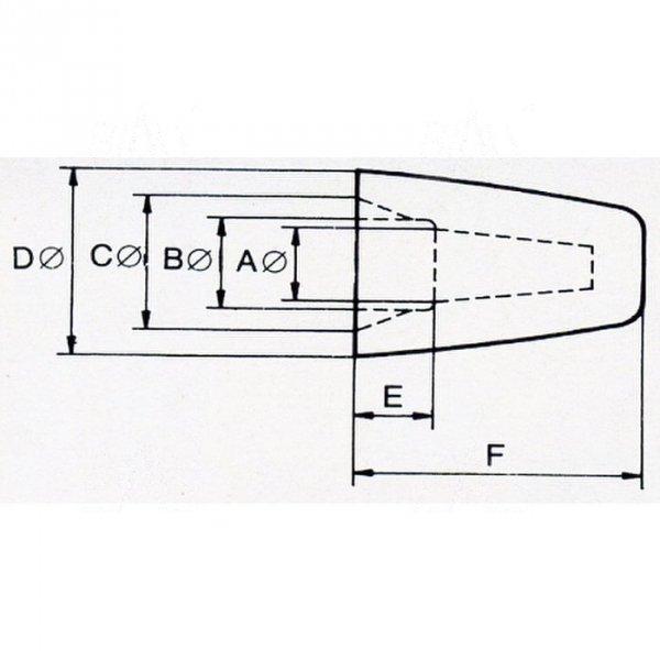 ZKN-4.2 złączka nakręcana  4,2mm  100szt