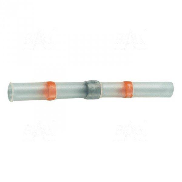 Łącznik termokurcz. z cyną SWT fi 2.8mm czerw 100szt