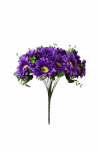 Bukiet gerbera z dodatkami 18 kwiatów MIX