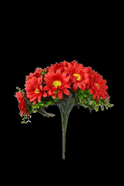 Bukiet gerbera z dodatkami 18 kwiatów MIX - 20YW036