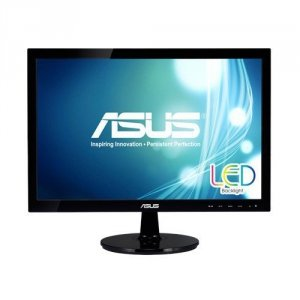 Asus Monitor 18.5  VS197DE 5ms ASCR LED TN VGA KENSINGTON