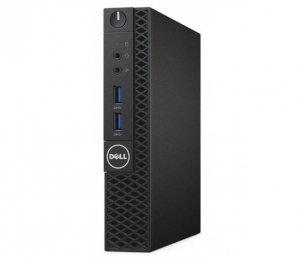 Dell Komputer Optiplex 3080 MFF/Core i5-10500T/8GB/256GB SSD/Integrated/No Optical drive/WLAN + BT/Kb/Mouse/W10Pro