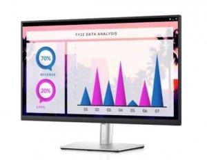 Dell Monitor P2721Q, 27 cali IPS WLED UHD  (3840x2160) /16:9/HDMI/DP/2xUSB 2.0/2xUSB 3.2 /3Y AEG