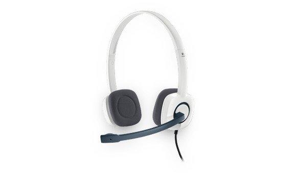 Logitech H150 Zestaw słuchawkowy 981-000350 Coconut