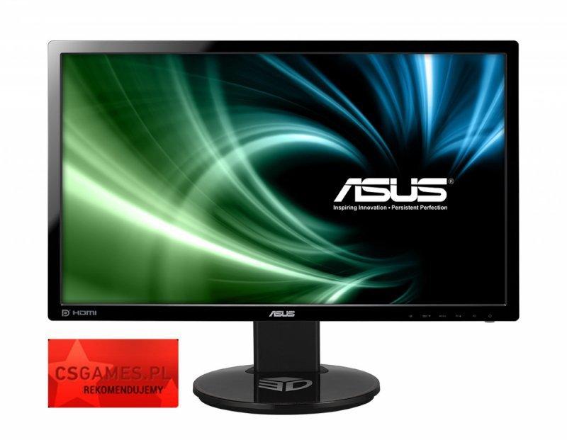 Asus Monitor 24 VG248QE GAMING WLED FHD 144Hz 1ms  HDMI DP Dual DVI-D GŁOŚNIK PIVOT