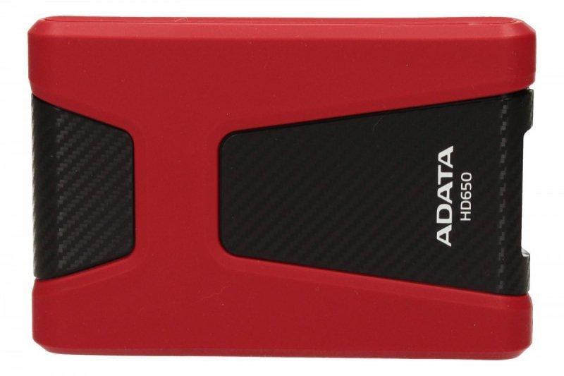 Adata DashDrive Durable HD650 1TB 2.5'' USB3.0 Czerwony