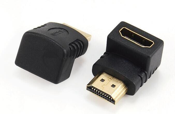 Gembird Adapter HDMI kątowy  90 męski-żeński