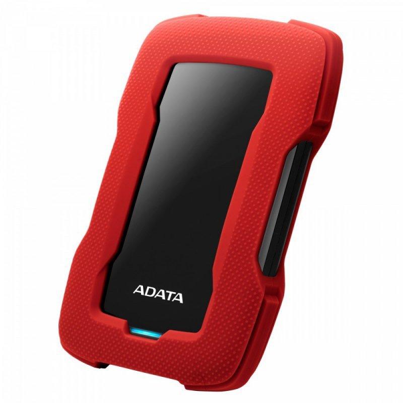 Adata Durable Lite HD330 1TB 2.5'' USB3.1 Czerwony
