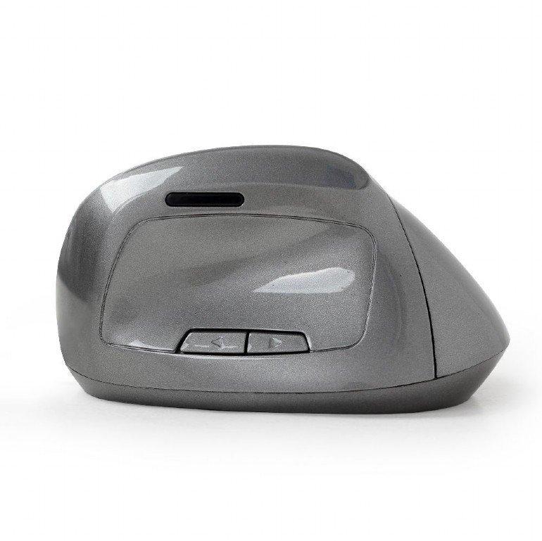 Gembird Mysz bezprzewodowa optyczna 6-przyciskowa Nano szara