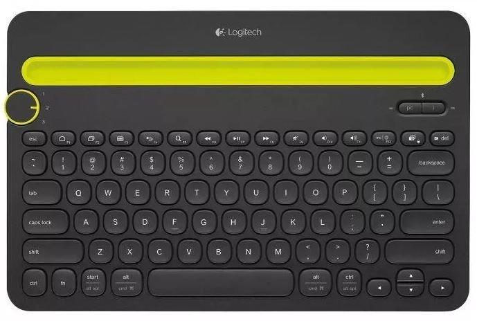 Logitech Klawiatura K480 Bluetooth Czarna 920-006366