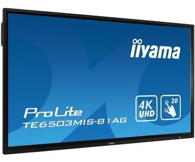 IIYAMA Monitor interaktywny 65 TE6503MIS-B1AG INFRARED,4K,IPS,24/7