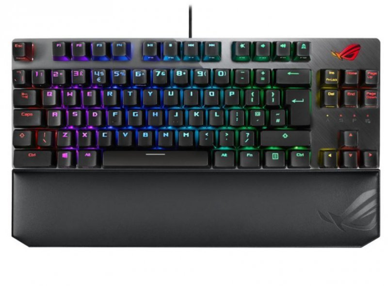 Asus Klawiatura ROG Strix Scope TKL Deluxe MX-Red/RGB/USB