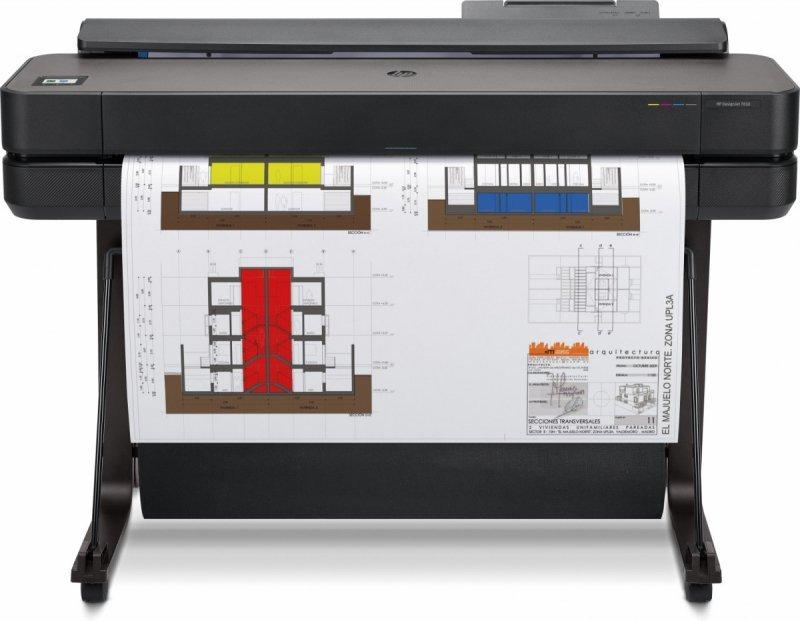 HP Inc. Drukarka wielkoformatowa DesignJet T650 36-in Printer 5HB10A