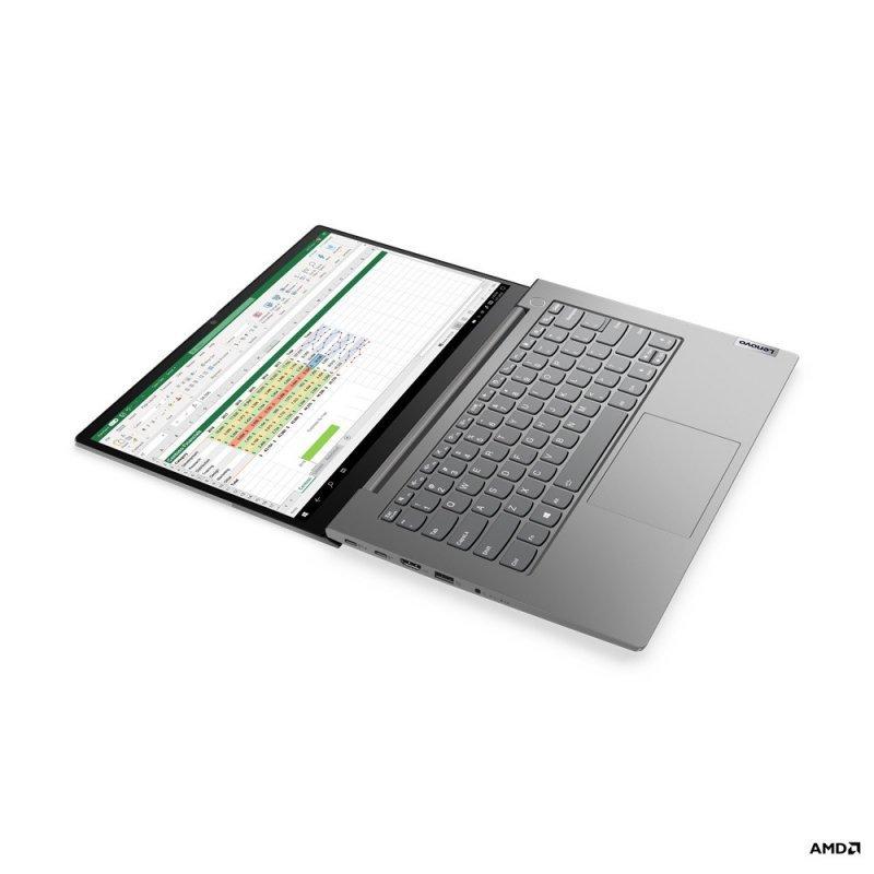 Lenovo Laptop ThinkBook 14 G2 20VF0048PB W10Pro 4500U/8GB/512GB/INT/14.0FHD/Mineral Grey/1YR CI