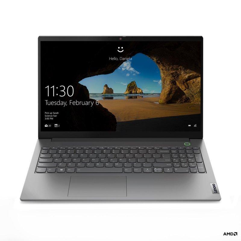Lenovo Laptop ThinkBook 15 G2 20VG006VPB W10Home 4500U/8GB/512GB/INT/15.6FHD/Mineral Grey/1YR CI