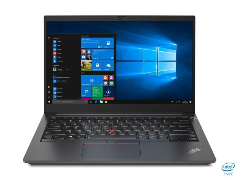 Lenovo Laptop ThinkPad E14 G2 20TA000BPB W10Pro i7-1165G7/8GB/256GB/INT/14.0 FHD/Black/1YR CI