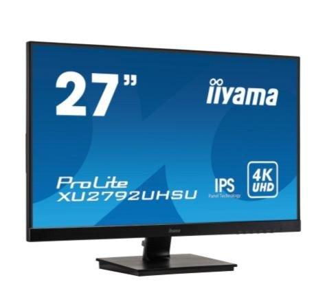 IIYAMA Monitor 27 cala XU2792UHSU-B 4K,IPS,USB,DP,HDMI,DVI,PIP