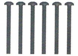 Śruba z łbem kulistym  M3x30 6 szt. - 10478