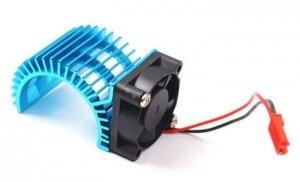 Radiator z wentylatorem do silników klasy 540-550 (niebieski) - N10026