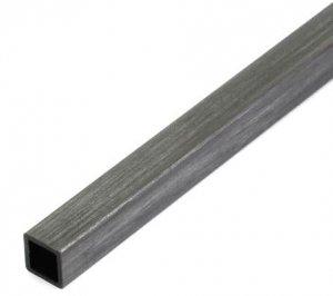 Profil węglowy kwadratowy 10/10 x 1000 mm otwór 8,5 mm