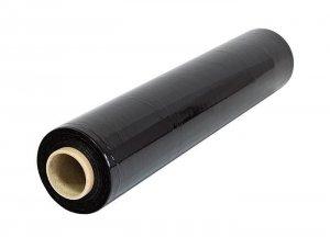 Folia stretch czarna 3kg szerokość 50cm