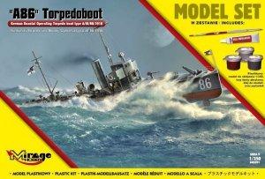 A86 Torpedoboot Torpedowiec Obrony typ A/III/56/1916