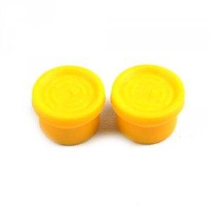 Para sylikonowych nakładek na joysticki aparatur DJI - żółte