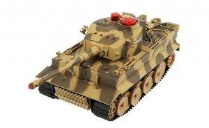 Zestaw wzajemnie walczących czołgów 1:24 27/40MHz RTR - POSERWISOWY (1 sprawny nowy czołg)