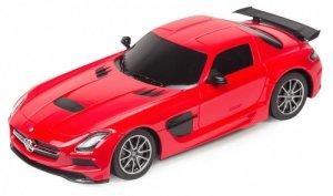 Mercedes-Benz SLS AMG Black series 1:18 RTR (zasilanie na baterie AA) - Czerwony