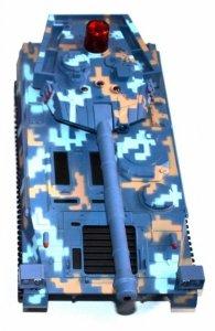 Zestaw wzajemnie walczących czołgów(1 czołg) 1:24 27MHz - POSERWISOWY (Uszkodzona elektronika)
