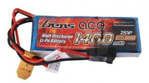1400mAh 7.4V Transmitter Pack Gens Ace