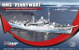 HMS PENNYWORT Brytyjska Korweta klasy Flower K111