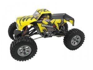 Mini Rock Crawler 1:16 4WD 2.4GHz 4CH RTR - żółty