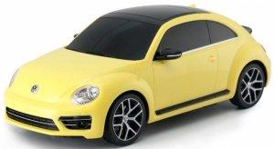 Volkswagen Beetle 1:14 RTR (zasilanie na baterie AA) - żółty