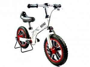 Rowerek biegowy MINI z hamulcem - biały
