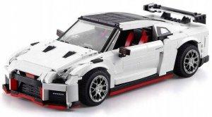 Sportowy samochód wyścigowy - klocki CADA - ZDALNIE STEROWANY (DE/C61020W)