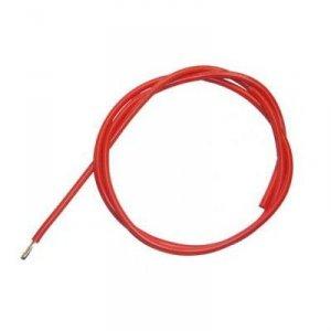 Przewód silikonowy 20AWG/0,5mm2 (czerwony) 1m