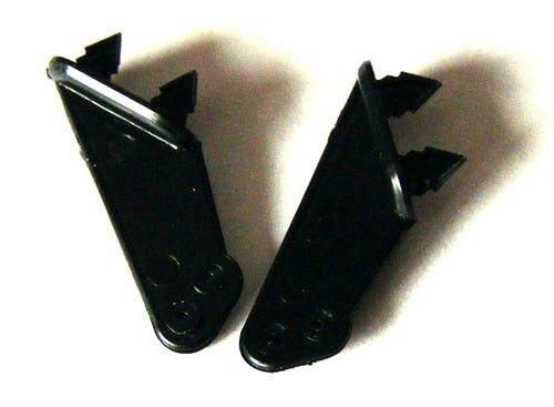 Dźwignie steru typ 3, 0,6mm, Czarne, 2 szt