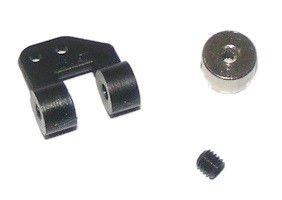 Dźwignia steru do sterowania kołem ogonowym śr. 2mm - 2 kompl.