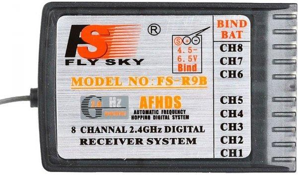 Odbiornik FlySky FS-R9B 8CH AFHDS 2.4GHz