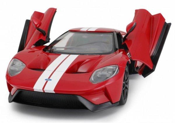 Ford GT 1:14 RTR (zasilanie na baterie AA) - Czerwony- POSERWISOWY